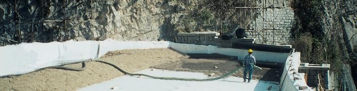 Rockfall protection tunnel
