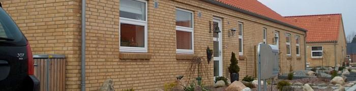 Homes on soft soil in Frederikshavn