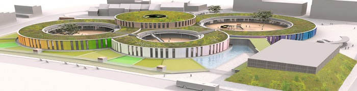 Les Trefles - 'Passive School Building'