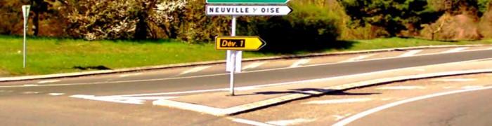 District road D203