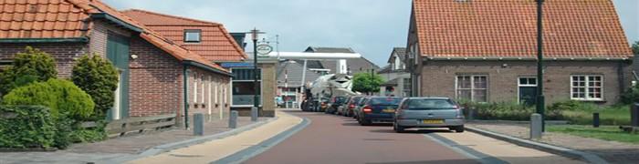 Main road 'Hoofdstraat' embankment