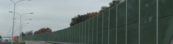 Sound barrier Ecobeton