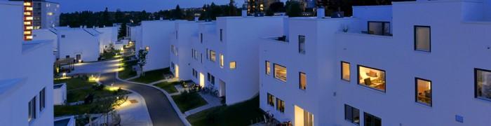 Voksenhagen - Oslo, 50 Exclay masonry houses