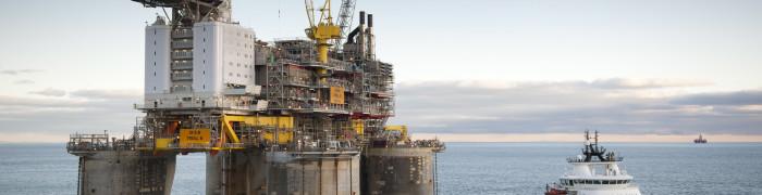 Troll West Floating Oil-Production Platform