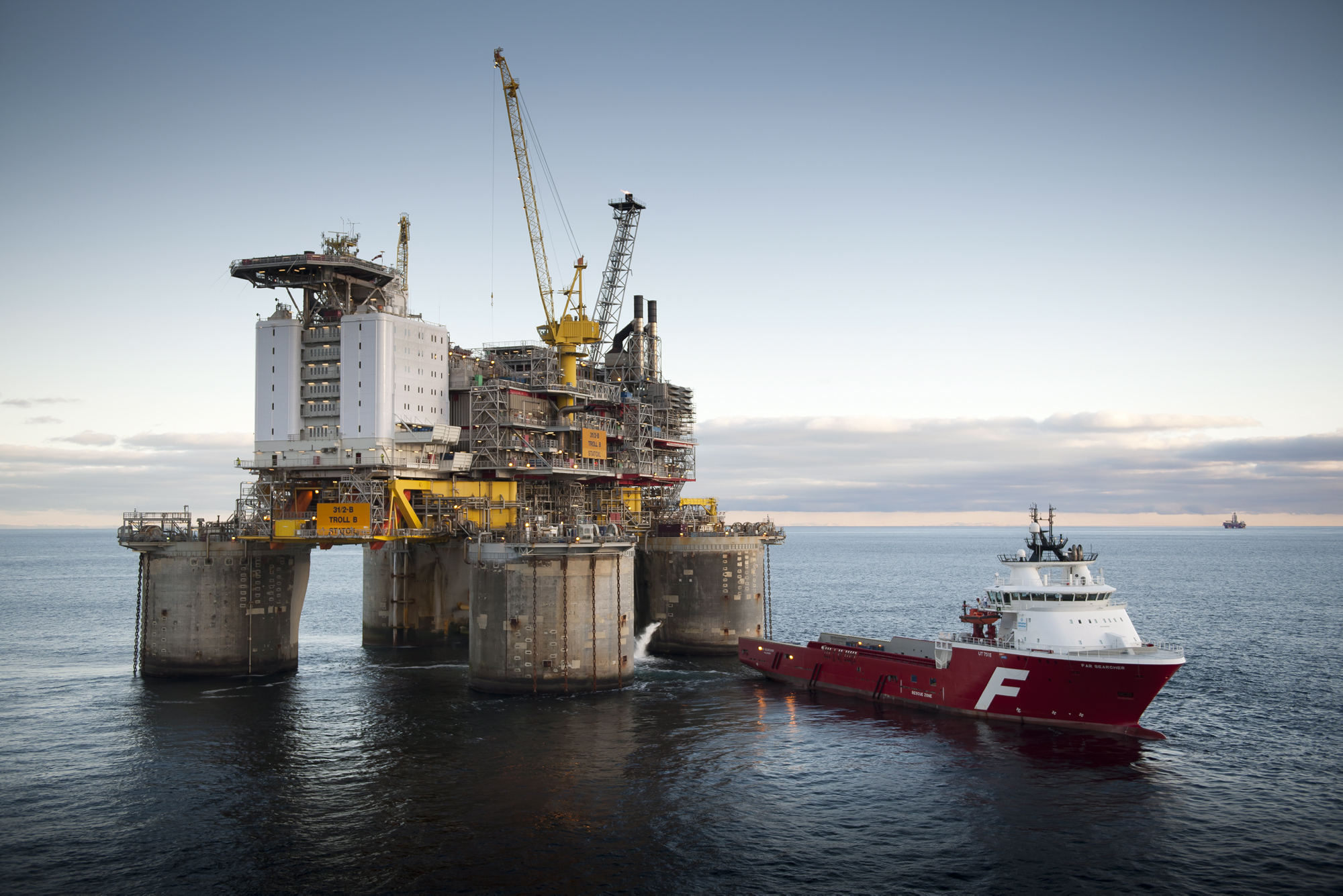 Troll West Floating Oil-Production Platform 3