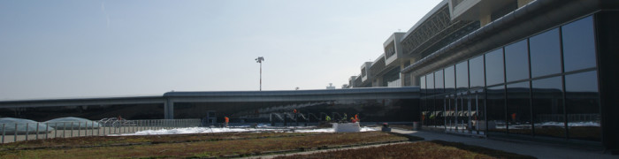 Malpensa Airport Green Roof