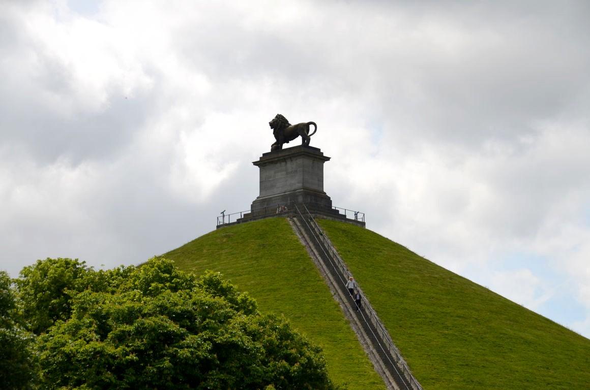 Memorial Monument Battle Of Waterloo 1815 3